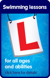 Swimming lessons for all ages and abilities