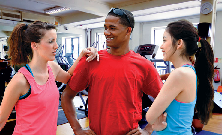 Club 1315 for young people who want to use the gym