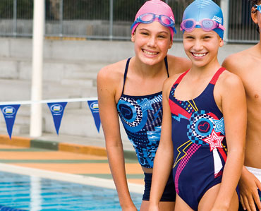 Tathra swimsuits and tankinis for girls
