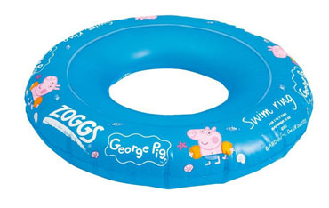 George Pig swim ring