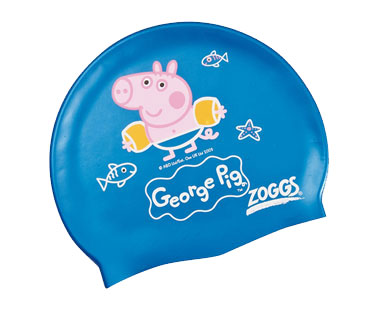George Pig swim hat